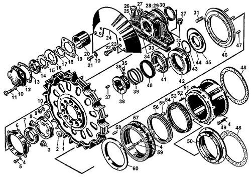 Бортовая Т 170 каталог