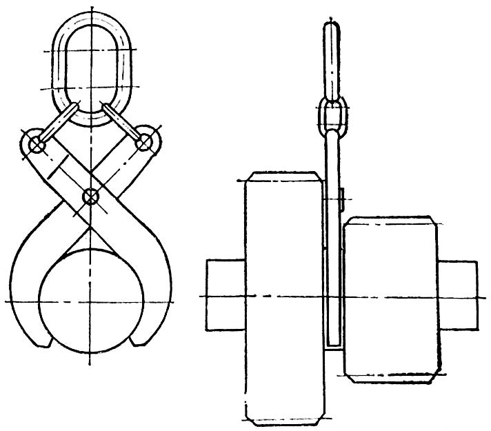 Схема строповки двойной