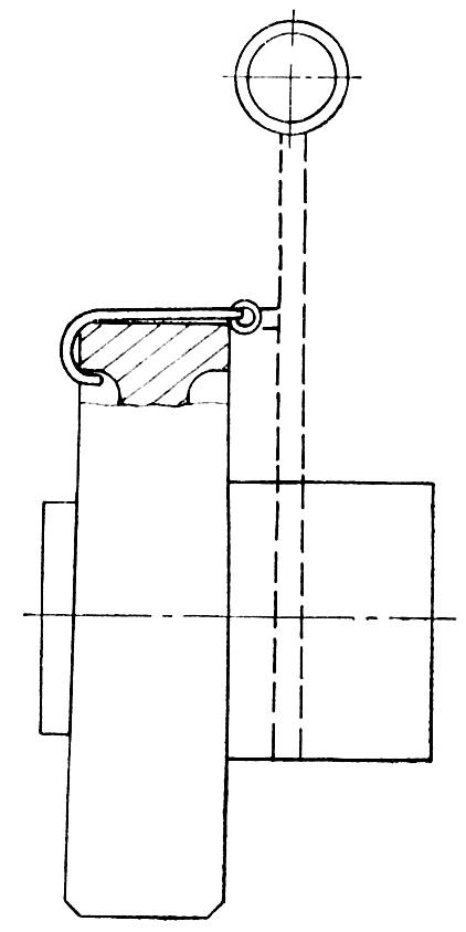 Схема строповки ступицы