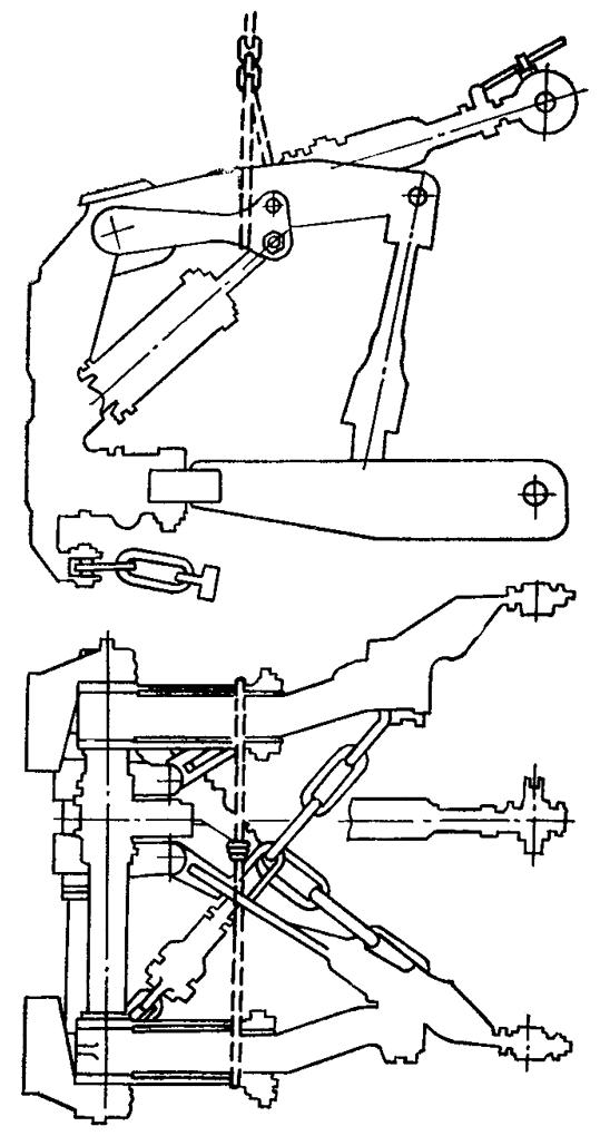 Схема строповки механизма