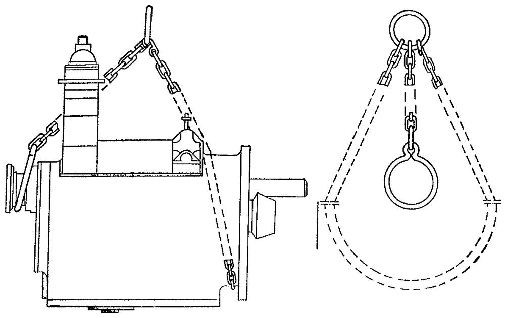 Схема строповки коробки